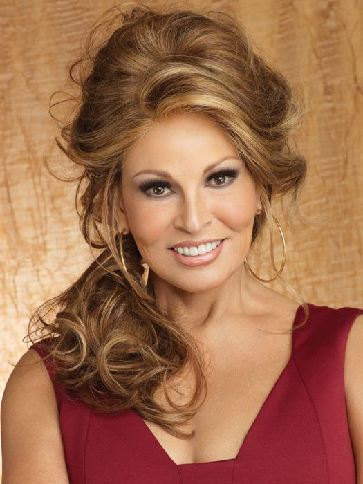 Limelight Lace Front Wig by Raquel Welch: Color RL30/27 - Rusty Auburn (Pale Red with Warm Blonde highlights)