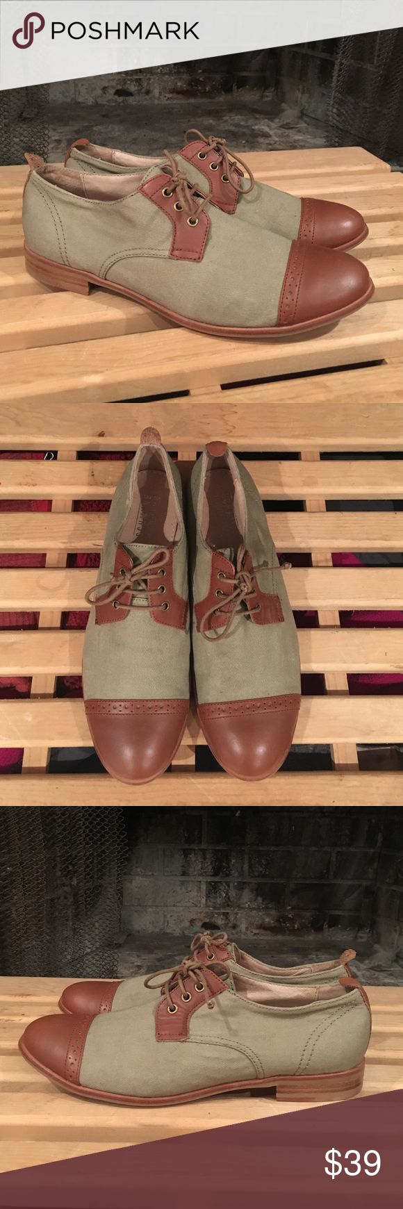 Sch**ve Heroïn Oxfords 😍 WOMENS SHOES The young brand Schmoove Heroine has a bohemian and folk inspirations. The Heroine line says over the seasons her independence and reveals a chic and liberated femininity, canvas and leather, bought on England for about $140 worn only twice, in good preowned condition no stains or holes 😍 Sch**ve Heroïne  Shoes