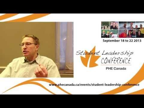 PHE Canada Student Leadership Conference - Testimonial from Doug - YouTube