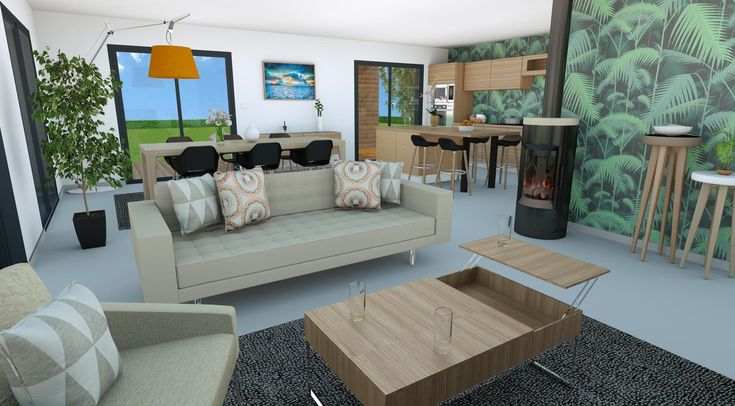 44 best Maisons en bois images on Pinterest Beach houses, Modern