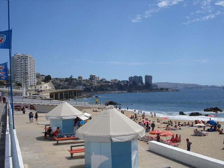 Vina del Mar, Chile - a university summer with Marianne, memories!