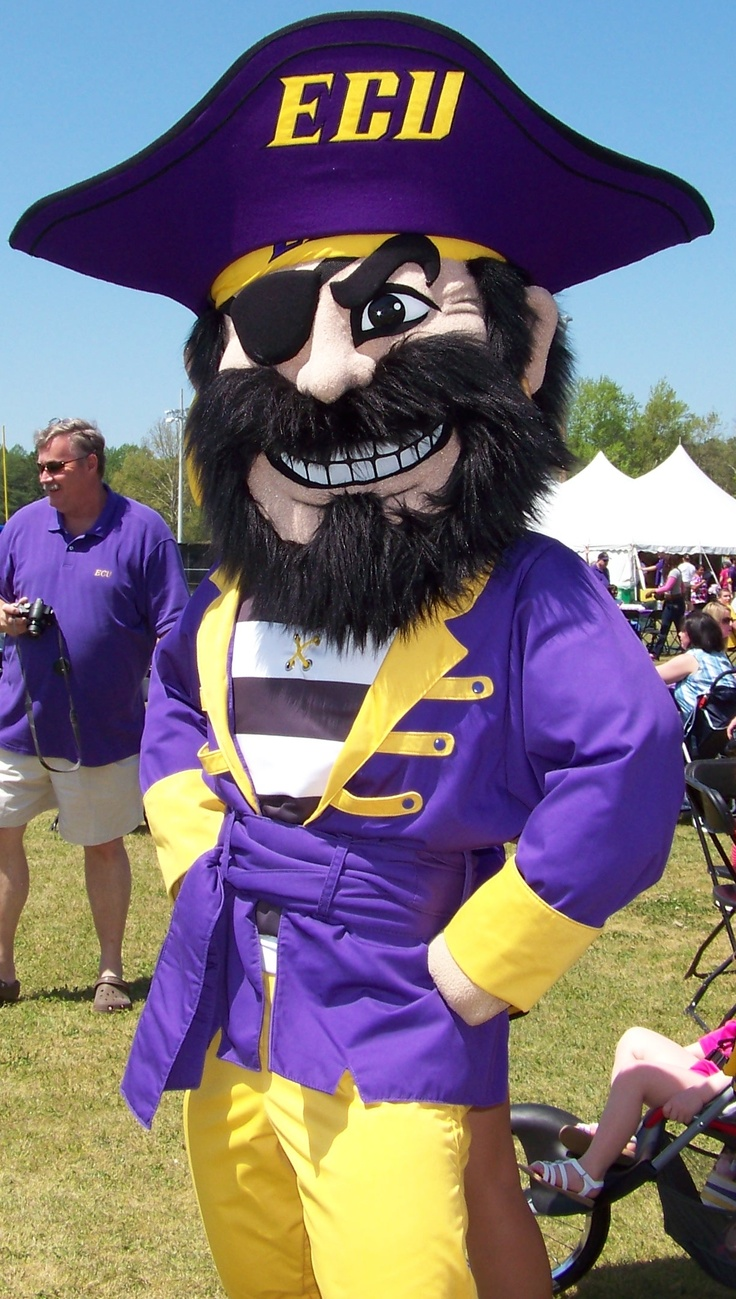 We are the Pirates of ECU