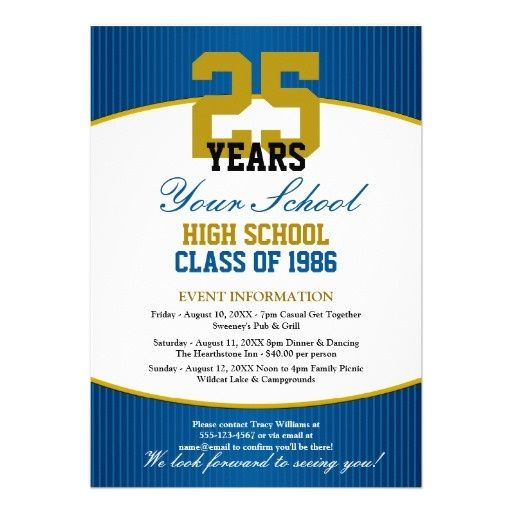 22 best CLASS AND FAMILY REUNION INVITATIONS images on Pinterest