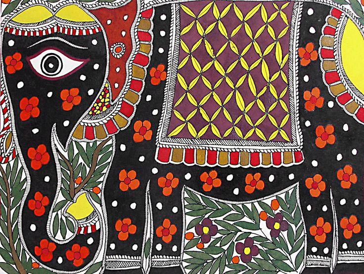 folk art I love the design of this...