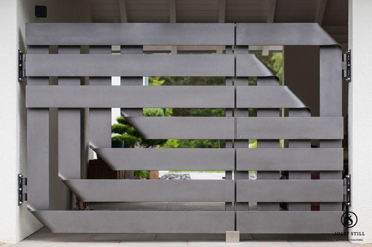 die besten 25 einfahrtstor ideen auf pinterest eingangstor einfahrt tor und moderner eingang. Black Bedroom Furniture Sets. Home Design Ideas