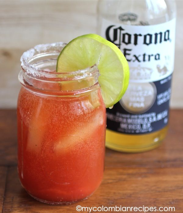 Michelada Recipe and Happy New Year! | Recipes | Pinterest