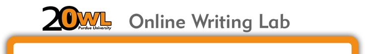 Perdue University - Online Writing Lab (Owl) Free writing curriculum.