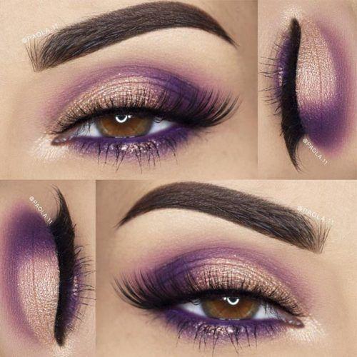 Schöne Make-up-Ideen für hellbraune Augen Bild 2 #augen #hellbraune #ideen #schone