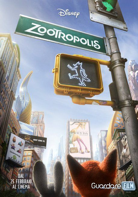 Zootropolis streaming ita: http://www.guardarefilm.tv/streaming-film/5683-zootropolis-2016.html