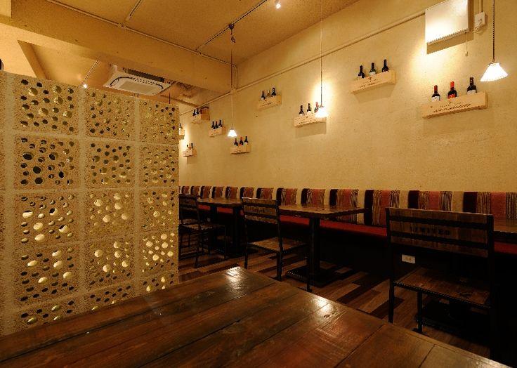 "LSD design co., ltd. ""wine dining A-LAKAKIYA""/2012/dining/Okinawa, Japan/Interior and facade design"