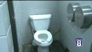 """There's a place called Poopy's in Savanna, Illinois. It's a biker bar that's revved up over its restrooms. """"Only a..."""