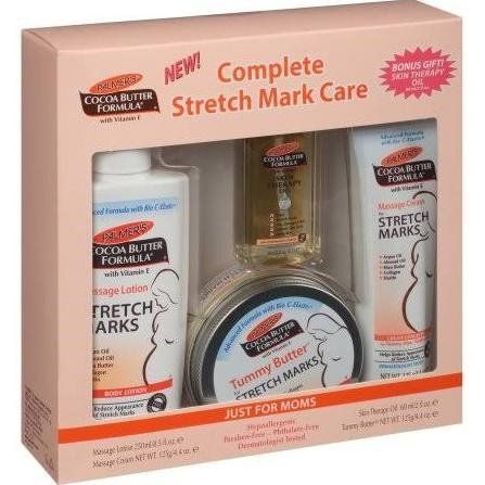Palmer's Cocoa Butter Formula with Vitamin E Complete Stretch Mark Care Set - 4 PC. For price & product info go to: https://all4babies.co.business/palmers-cocoa-butter-formula-with-vitamin-e-complete-stretch-mark-care-set-4-pc/