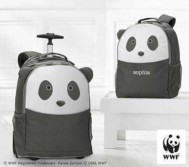 Panda Critter Backpacks Pbkids Pottery Barn Backpacks