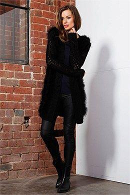 Grace Fur Cardi