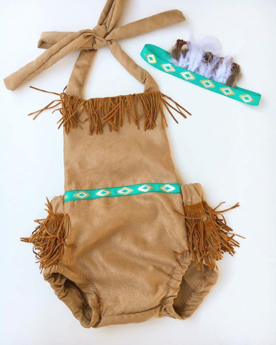 Pocahontas outfit Pocahontas costume indian outfit by PookieWear