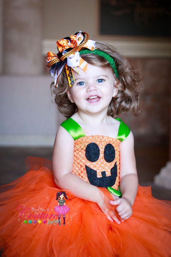 cute halloween or fall pumpkin tutu dress by sofiascouturedesigns 4900 - Halloween Tutu Dress