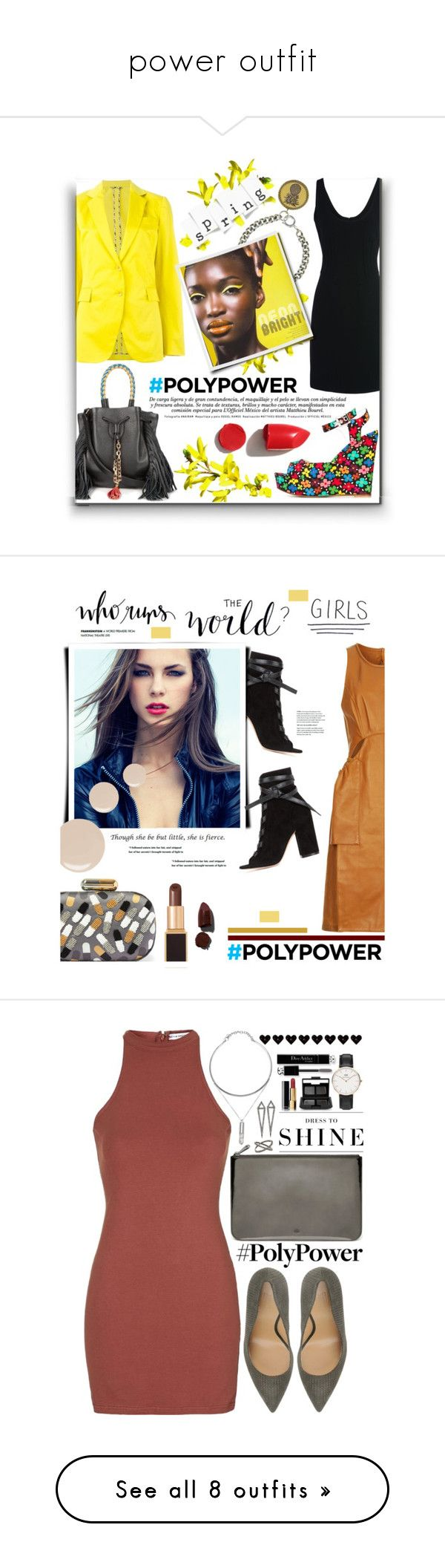 """""""power outfit"""" by love2sagittarius ❤ liked on Polyvore featuring Etro, Au Jour Le Jour, Moschino, Alexa De Castilho, Sara Battaglia, NARS Cosmetics, PolyPower, 3.1 Phillip Lim, Gianvito Rossi and Sarah's Bag"""