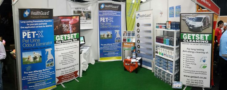 More of KleenHealth SA and GetSet Cleaning's stand at the WODAC Pet Expo.