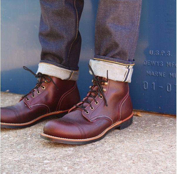 Red Wing Iron Rangers - Oxblood