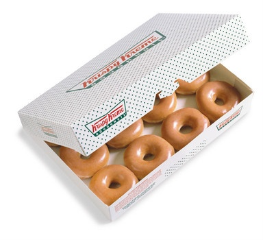 On Wednesday, Sept. 19, any buccaneer who dares enter a participating Krispy Kreme location talking like a pirate gets one FREE Original Glazed doughnut.