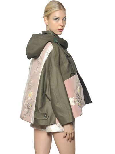 Antonio Marras Limited Edition Cotton Military Jacket on shopstyle.com