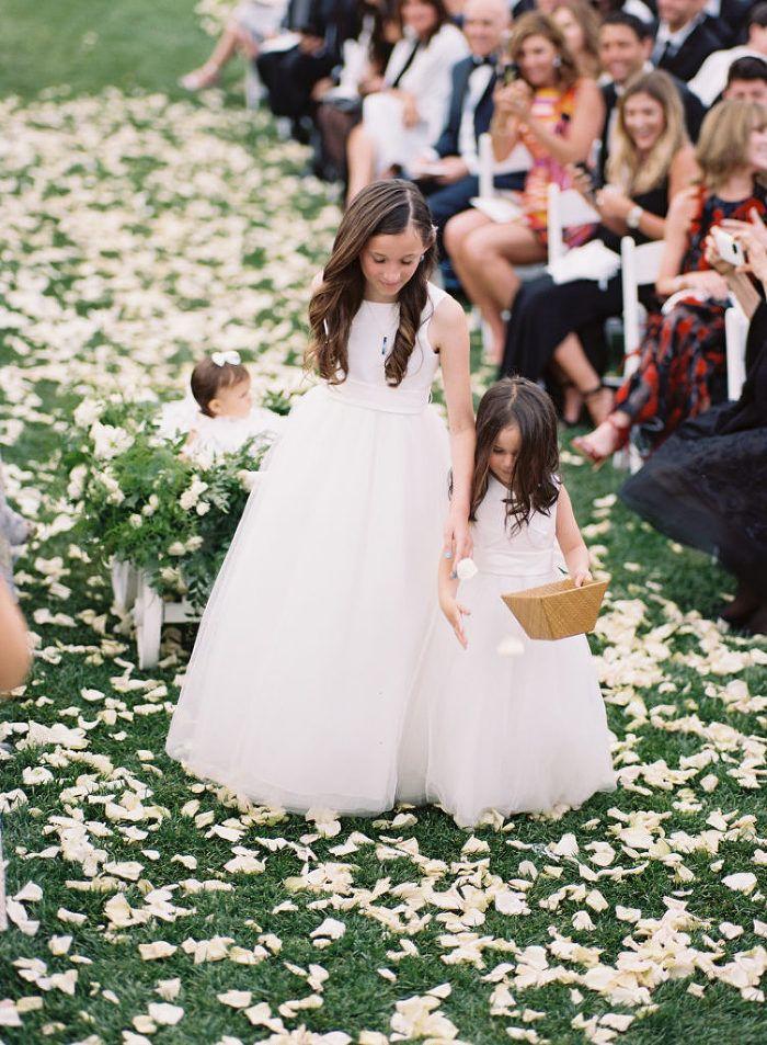 aboutdetailsdetails.com | OC Wedding Planner | The Resort at Pelican Hill |Braedon Flynn Photography | Destination Wedding | Coastal Wedding | Ceremony | Flower Girls | Rose Petal Isle | Flower Girl Wagon |