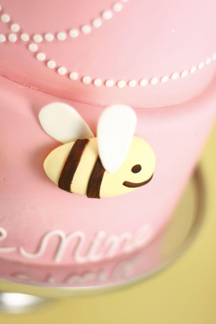 Eat Cake Be Merry - Bee Mine Valentine Cake