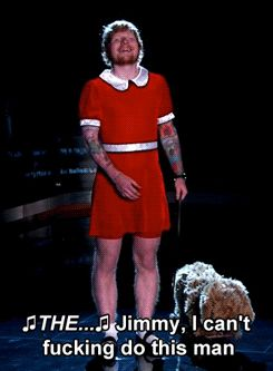 Ed Sheeran Is Little Orphan Annie