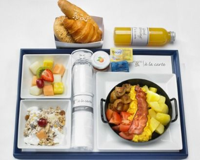 Austrian Airline's Pre-Order Meals