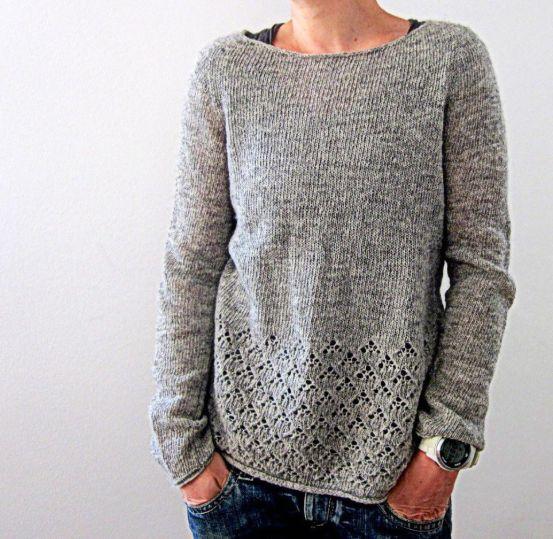 10 padrões de tricô para blusas lindas que você vai amar