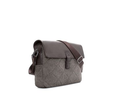 Image 2 of QUILTED MESSENGER BAG from Zara