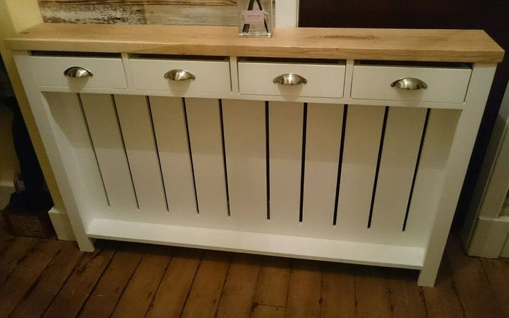 *HALLWAY DRESSER* HANDMADE to measure radiator cover cabinet, BESPOKE ! in Home, Furniture & DIY, Heating, Cooling & Air, Radiator Covers | eBay