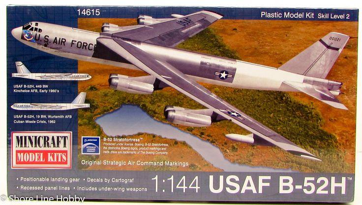 Minicraft 14615 USAF B-52H 1/144 New Military Aircraft Plastic Model Kit