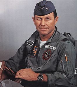 the life and military career of us air force pilot charles chuck e yeager Chuck yeager courtesy us centennial of flight commission www centennialofflightgov reproduced by permission for many people, chuck yeager is a true hero in the strictest definition of the word throughout lundgren, william r across the high frontier: the story of a test pilot–major charles e yeager, usaf.