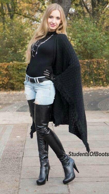 Pinterest : Js Babes in Boots 2 please follow #highheelbootsoutfit #highheelbootsthigh
