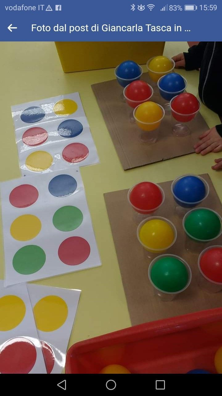 Balloon Sticky Wall Sensory Activity