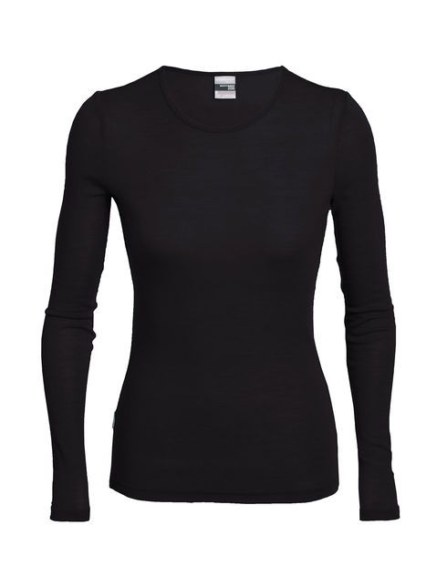 For year round comfort in any weather, the women's Everyday Long Sleeve crewe is ideal for sports or casual occasions. Slim fitting, this jersey features our highly breathable 200gm merino rib fabric that cools in hot weather and insulates in cold weather under a top or shell. Set in sleeves and a slightly open neckline make it layer nicely and feel great under a pack. And merino's natural odor resistance mean you can wear it several times between washings, for workout or as a casual...
