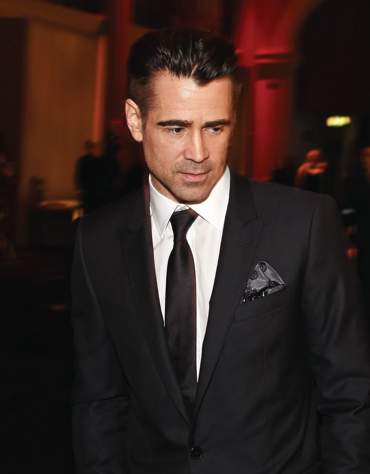 Colin Farrell red carpet and ceremony official photos from the 2015 Moet British Independent Film Awards
