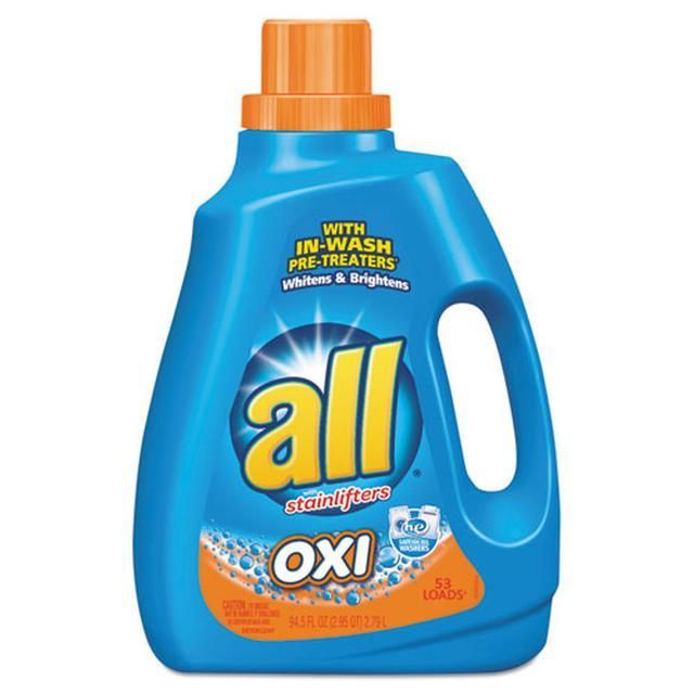 Ultra Oxi Active Stainlifter Musk Scent 94 5oz Bottle 8 Bottles Laundry Liquid Laundry Detergent Hypoallergenic Laundry Detergent