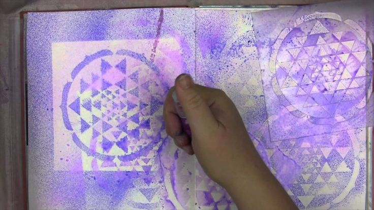 """Art Lessons Vol. 3 with Jane Davenport: Stencil Auditions..I could listen to her teach all day long. What a wonderful video, definitely a """"keeper""""."""