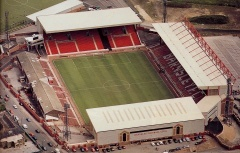 Oakwell, Barnsley FC. Capacity 23,009