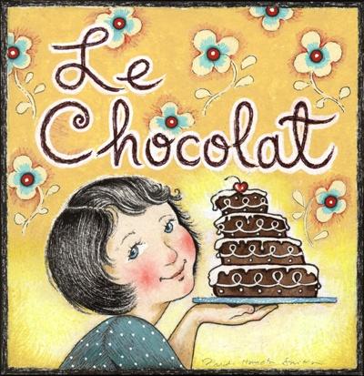 Miam miam! Le chocolat.