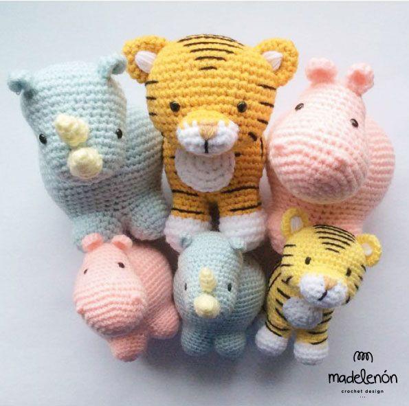 Amigurumi Zoo Animals : My jungle amigurumi pattern by madelenon