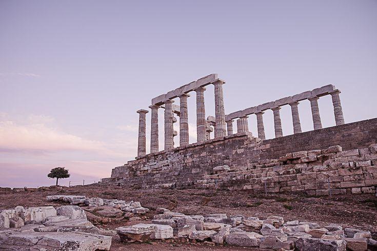 Athènes Grèce - temple de poseidon