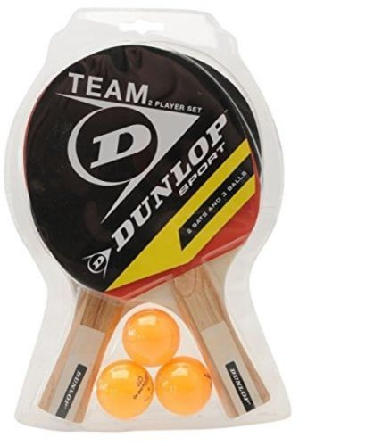#Dunlop unisex team 2 player set table #tennis set bat ball sports #accessories,  View more on the LINK: 	http://www.zeppy.io/product/gb/2/252284003060/