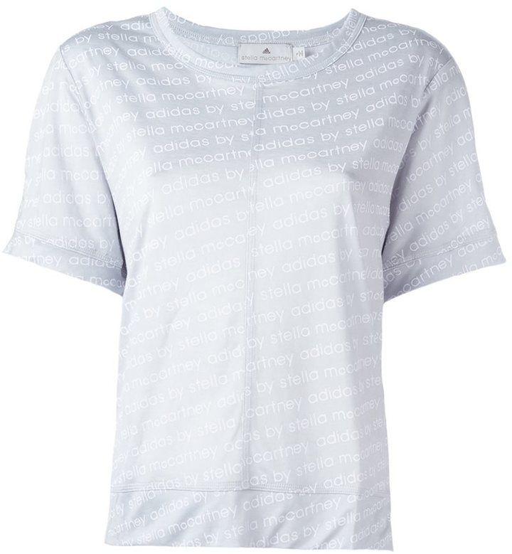 Adidas By Stella Mccartney logo print T-shirt
