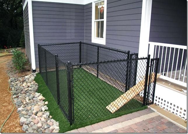 Backyard Dog Fence Backyard Fences For Dogs Best Dog Fence Ideas On Fence Ideas Wire In 2020 Backyard Dog Area Dog Houses Dog Area