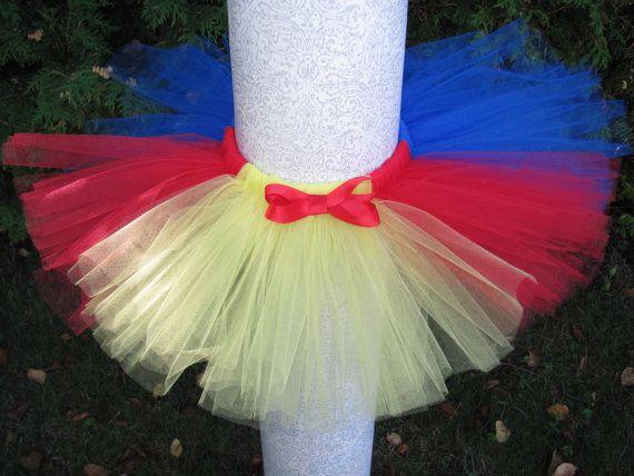 Snow White  tutu / costume tutu / halloween tutu / infant tutu / baby tutu / toddler tutu / girl costume / baby costume / toddler costume / halloween costume by KatiaMarie, $22.50