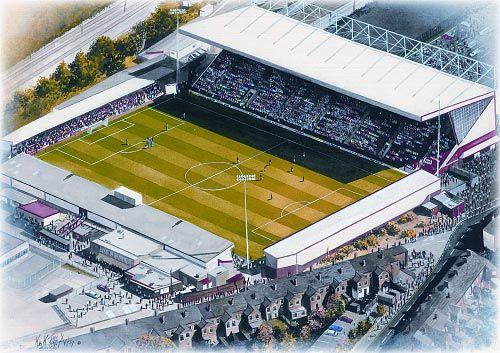 Gresty Road(Crewe Alexandra) @ sportsstadiaart.com