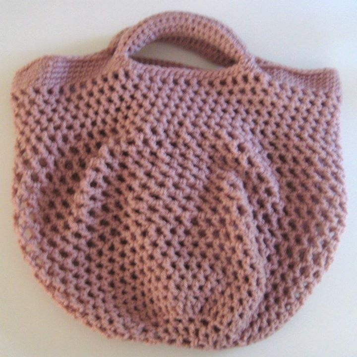 Crocheted Market Bag for heath_face in the Little Visitor Swap Rd 14